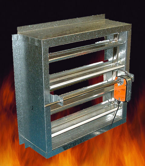 Ace air diffusion sdn bhd for Motorized smoke fire damper